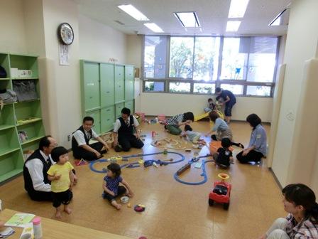 6月12日新潟市西区「子育てひろば」にて